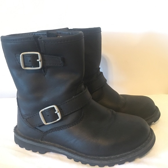 22d64a8098a UGG T Harwell Boots Black baby girl US size 8